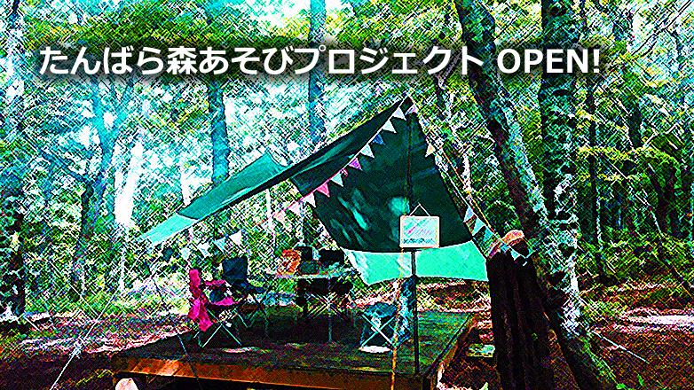 たんばら森あそびプロジェクト ~関東最大のブナの森が広がる玉原高原に気軽に立ち寄れるアウトドアスポット誕生