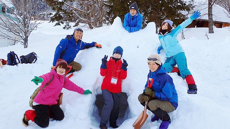 冬の森の指導者養成講座 参加者募集中!~冬のアクティビティ体験と雪上泊から安全管理まで