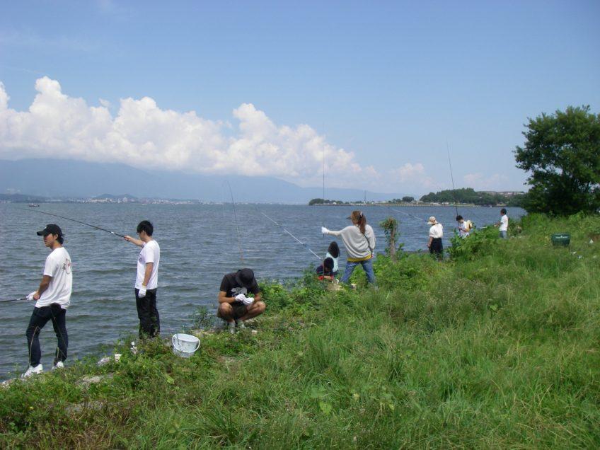 琵琶湖外来魚駆除大会(2018年9月9日)