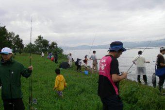 琵琶湖外来魚駆除大会(2018年 10月 14日)
