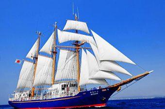 帆船みらいへ体験航海&一般公開(無料)【田子の浦港】