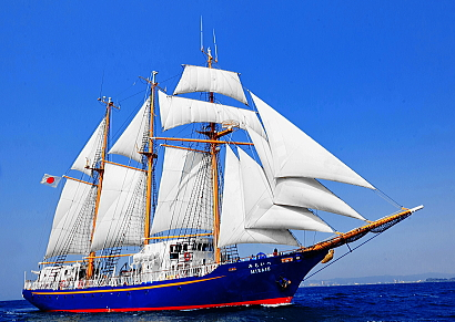 4泊5日体験航海「帆船みらいへ」ヤングマリナープログラム
